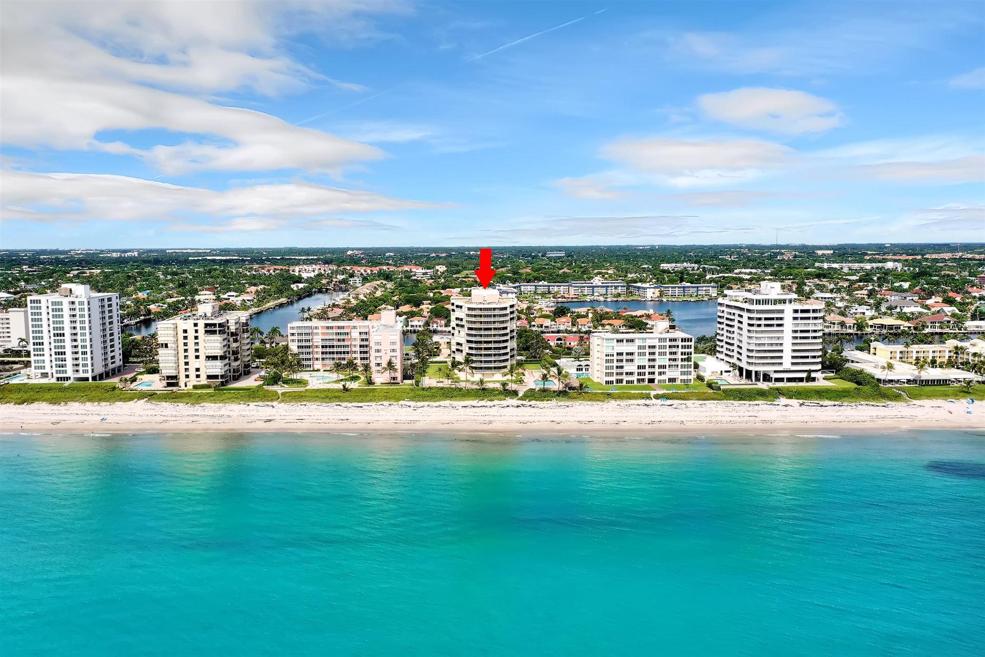 2917 S Ocean Boulevard #101, Highland Beach, FL 33487 - #: RX-10648268