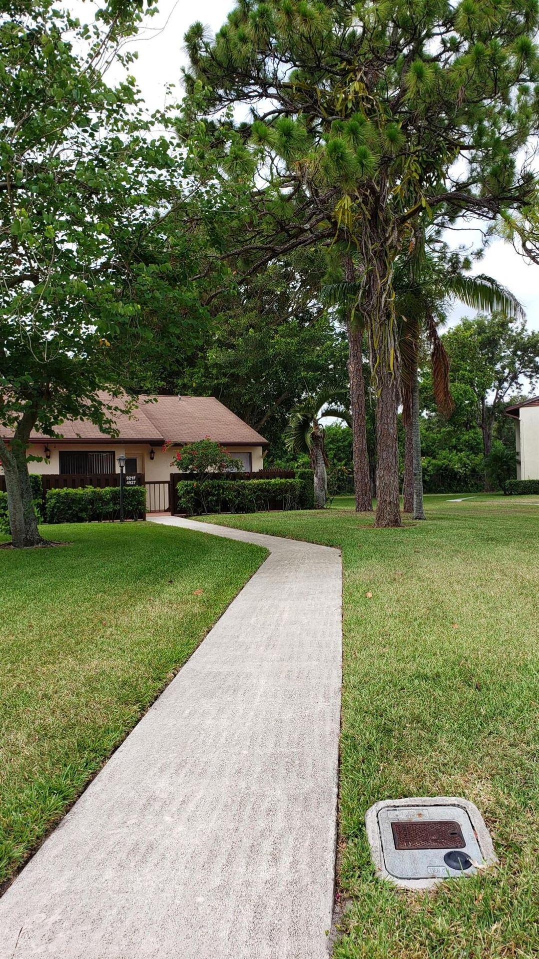 4927 Sable Pine Circle #F, West Palm Beach, FL 33417 - MLS#: RX-10720268