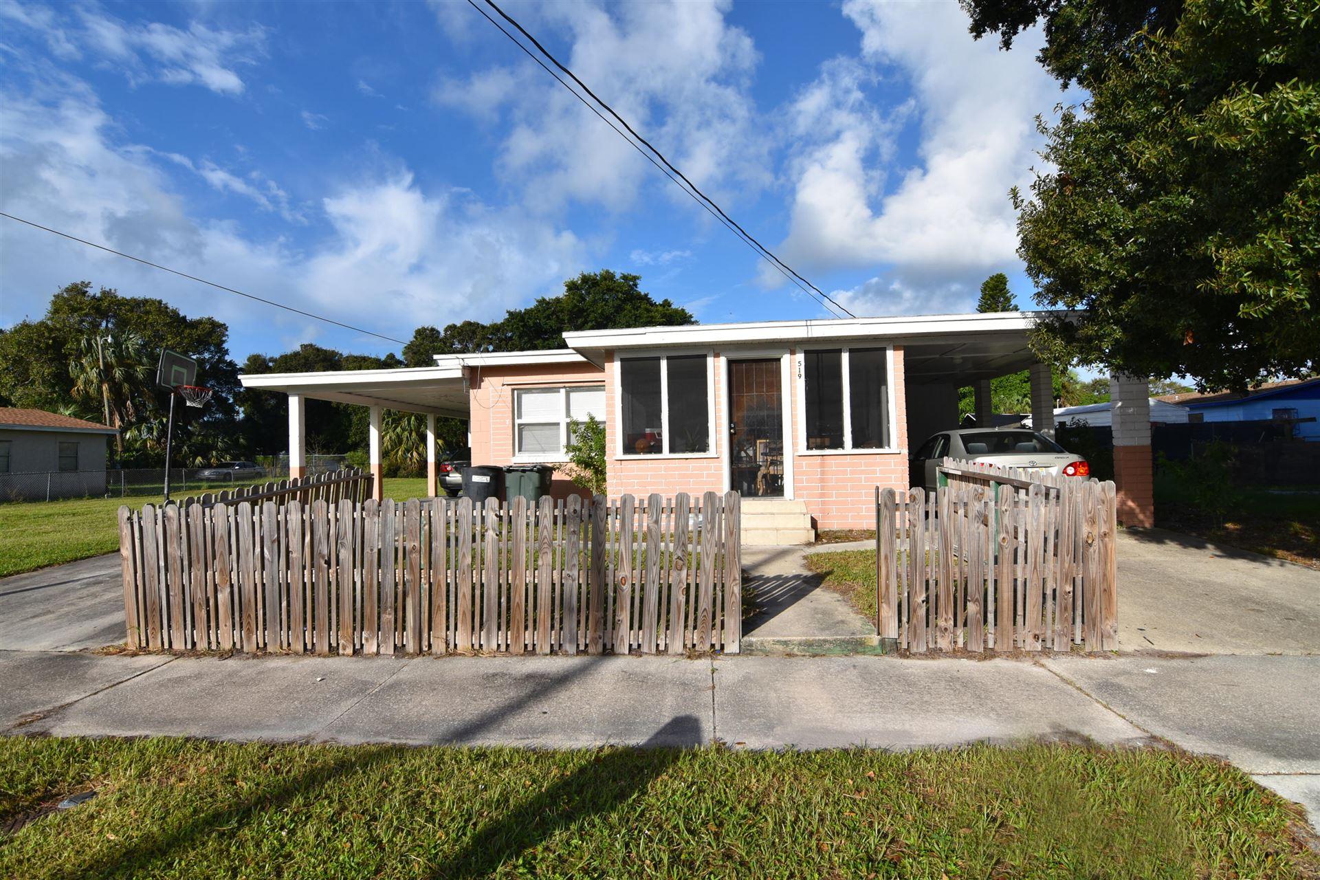519 N 19th N Street, Fort Pierce, FL 34950 - #: RX-10665271