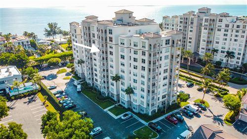 Photo of 3594 S Ocean Boulevard #804, Highland Beach, FL 33487 (MLS # RX-10665272)