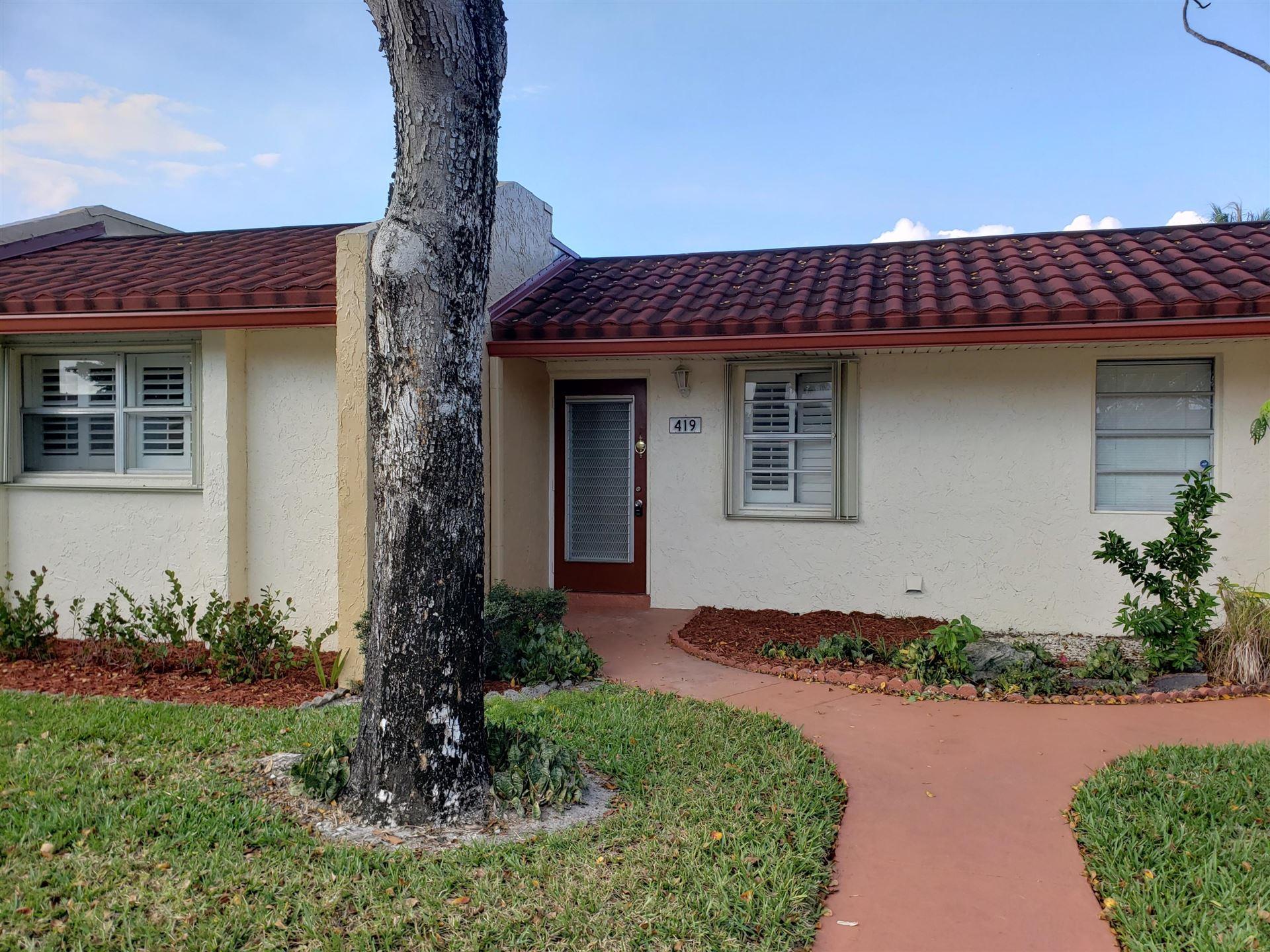 419 Lake Evelyn Drive, West Palm Beach, FL 33411 - #: RX-10614273