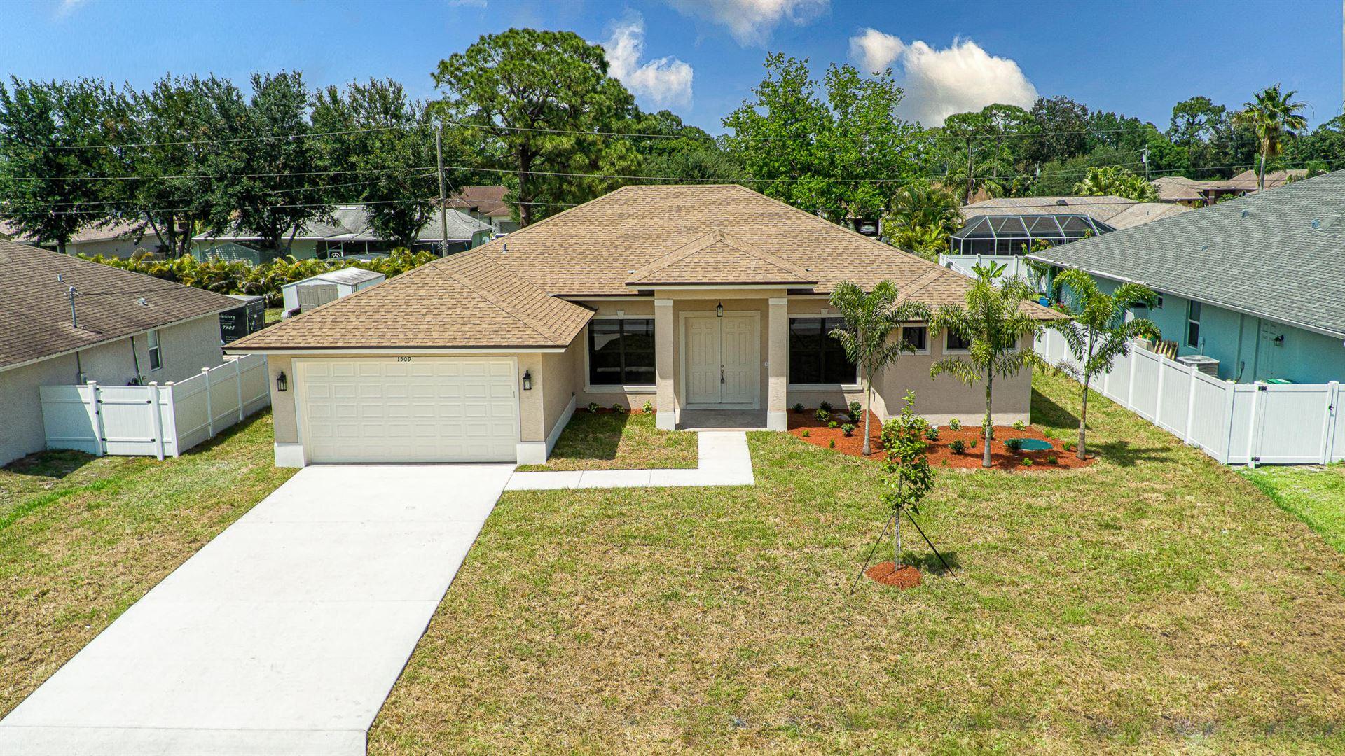 1509 SW Fresno Road, Port Saint Lucie, FL 34953 - #: RX-10709273