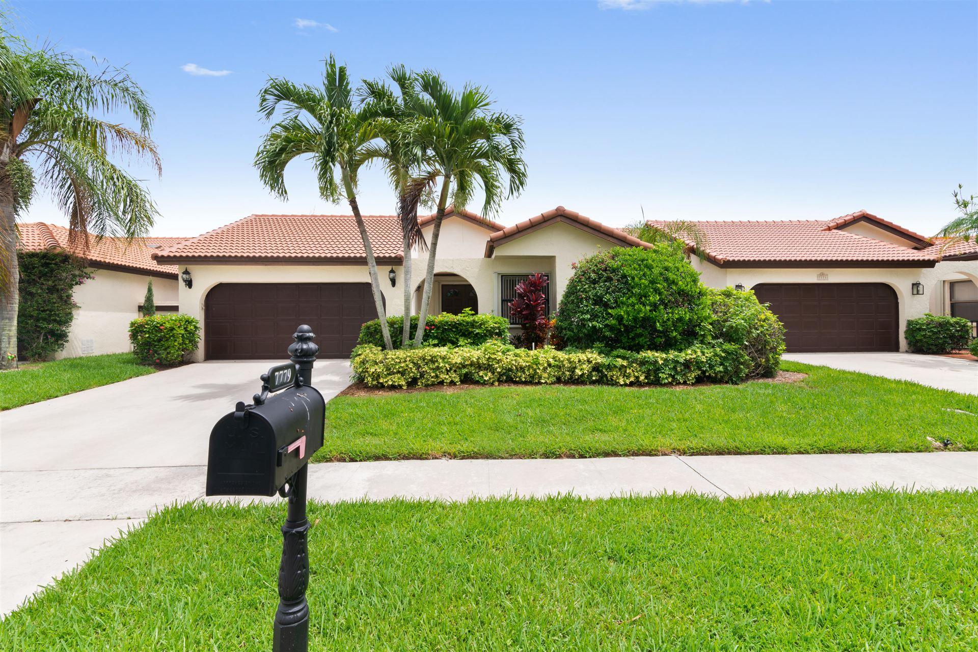 7779 Villa Nova Drive, Boca Raton, FL 33433 - MLS#: RX-10730273
