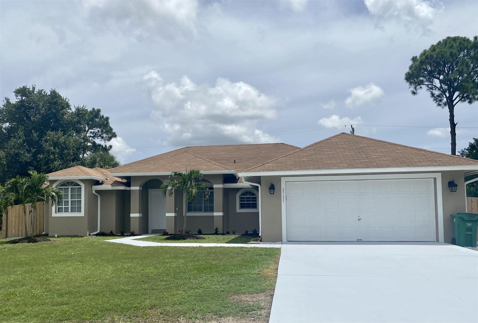 2721 SW Ensenada Terrace, Port Saint Lucie, FL 34953 - MLS#: RX-10737273