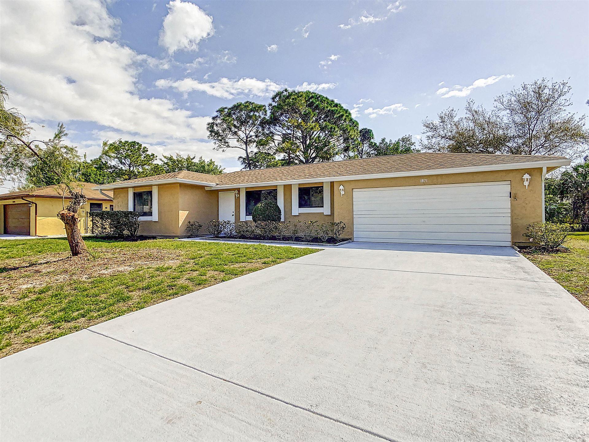 1871 SE Fairfield Street, Port Saint Lucie, FL 34983 - #: RX-10710274