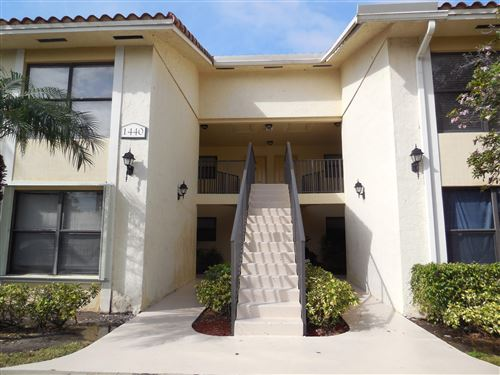 Photo of 1440 Lake Crystal Drive #H, West Palm Beach, FL 33411 (MLS # RX-10617277)