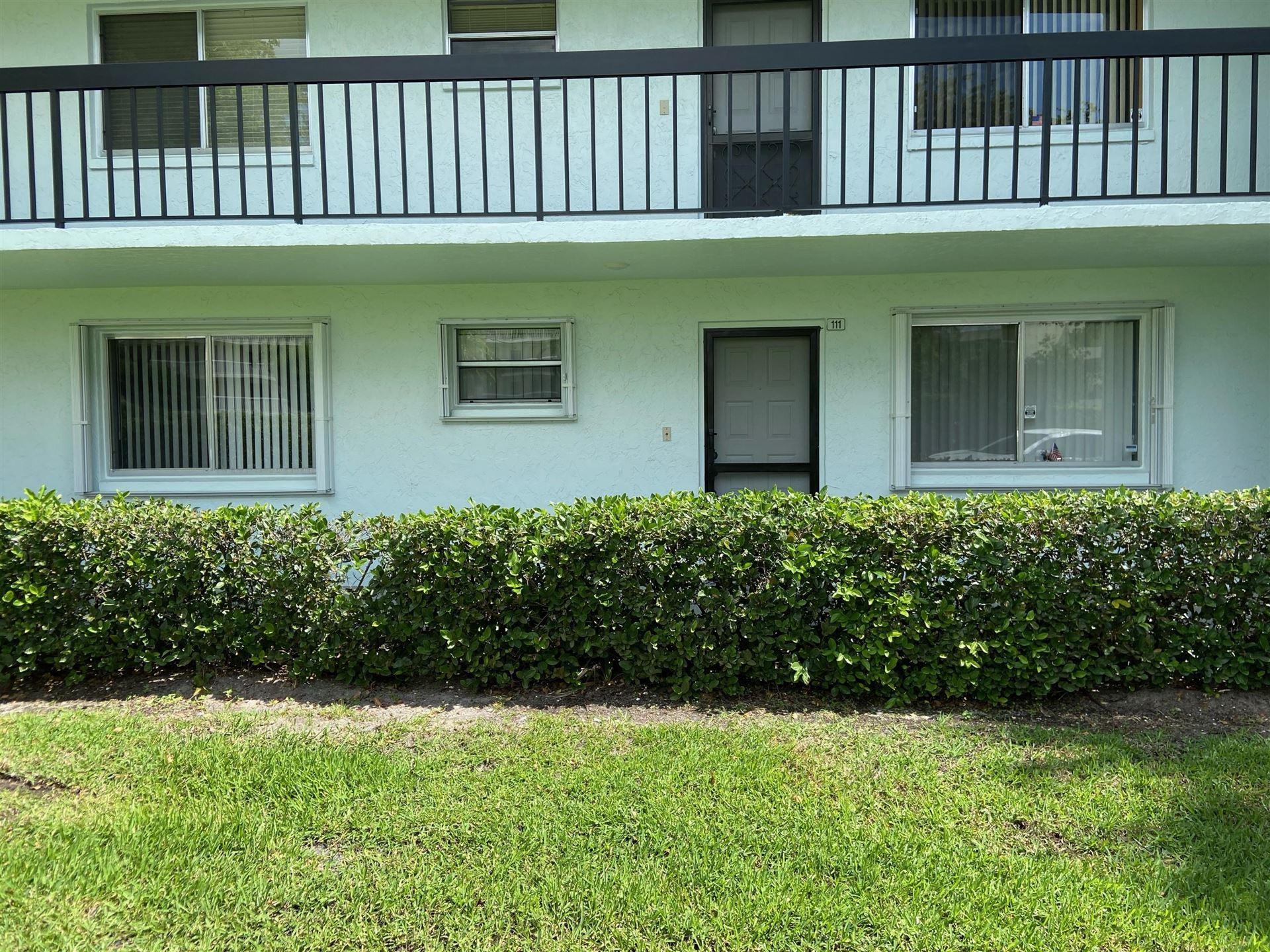 6698 10th Avenue N #111, Lake Worth, FL 33467 - MLS#: RX-10701277