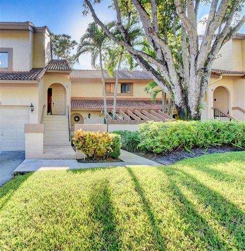 Photo of 5521 Coach House Circle #F, Boca Raton, FL 33486 (MLS # RX-10658279)