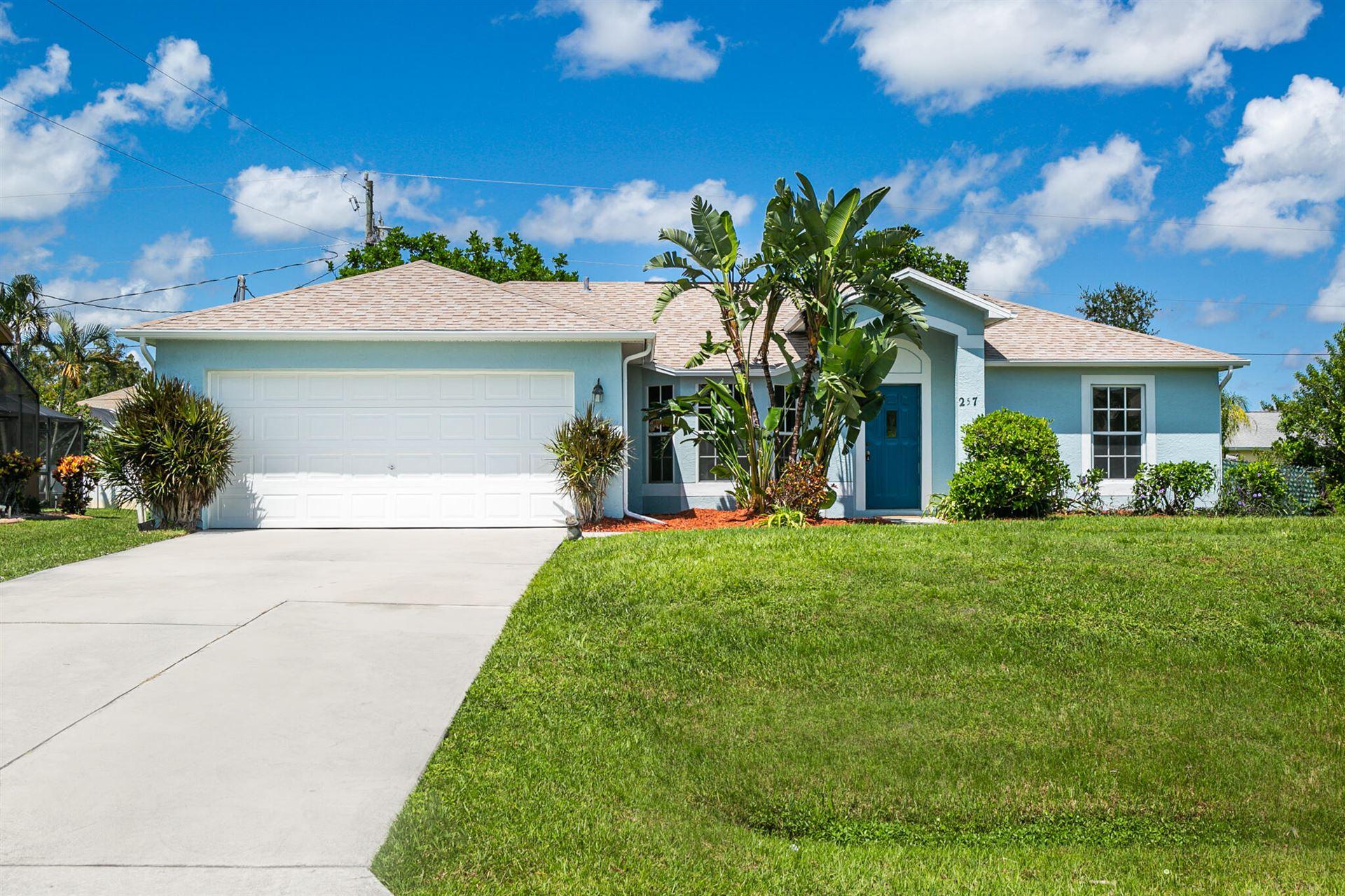 257 SW Chandler Terrace, Port Saint Lucie, FL 34984 - #: RX-10746279