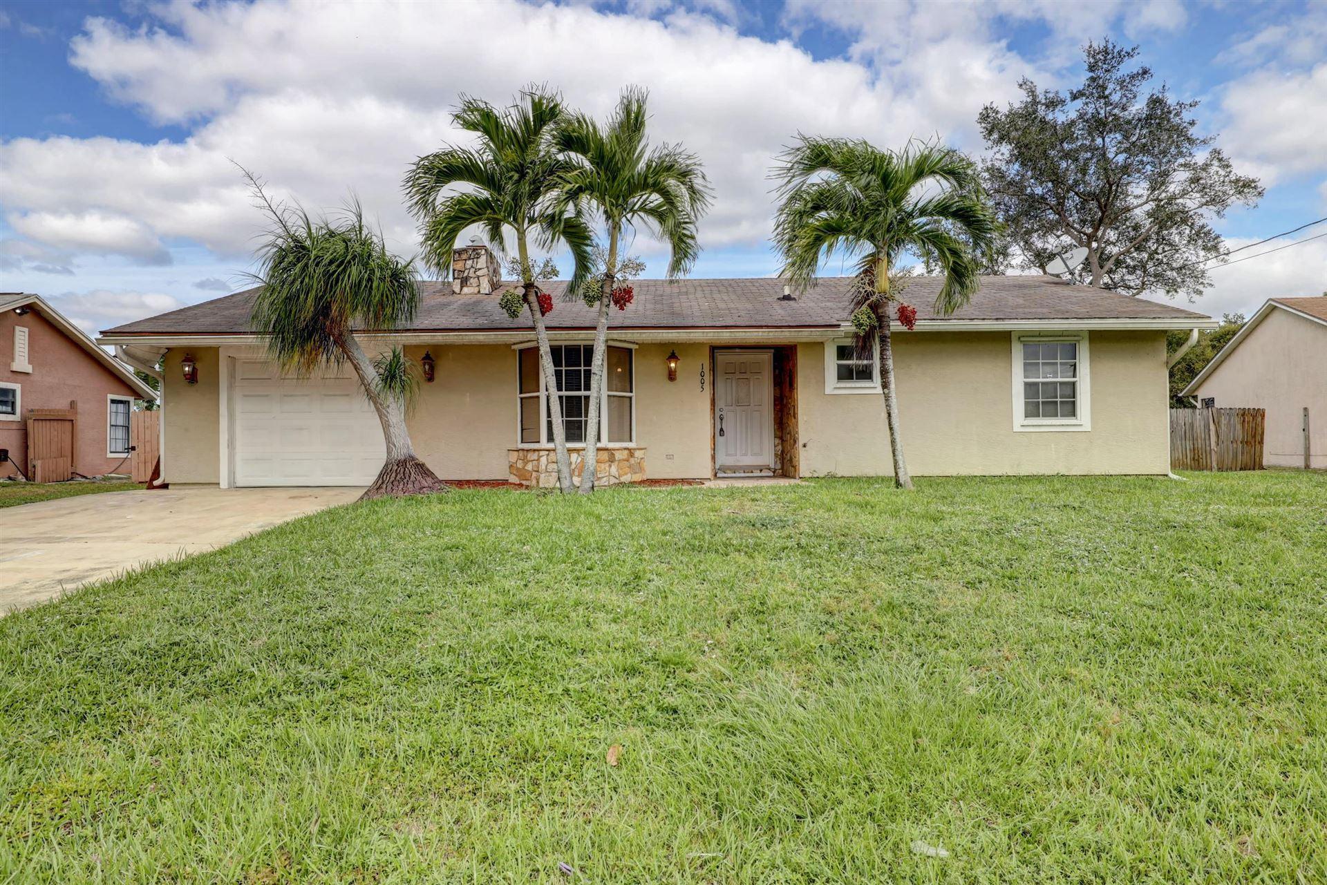 1005 SW Coleman Avenue, Port Saint Lucie, FL 34953 - #: RX-10638280