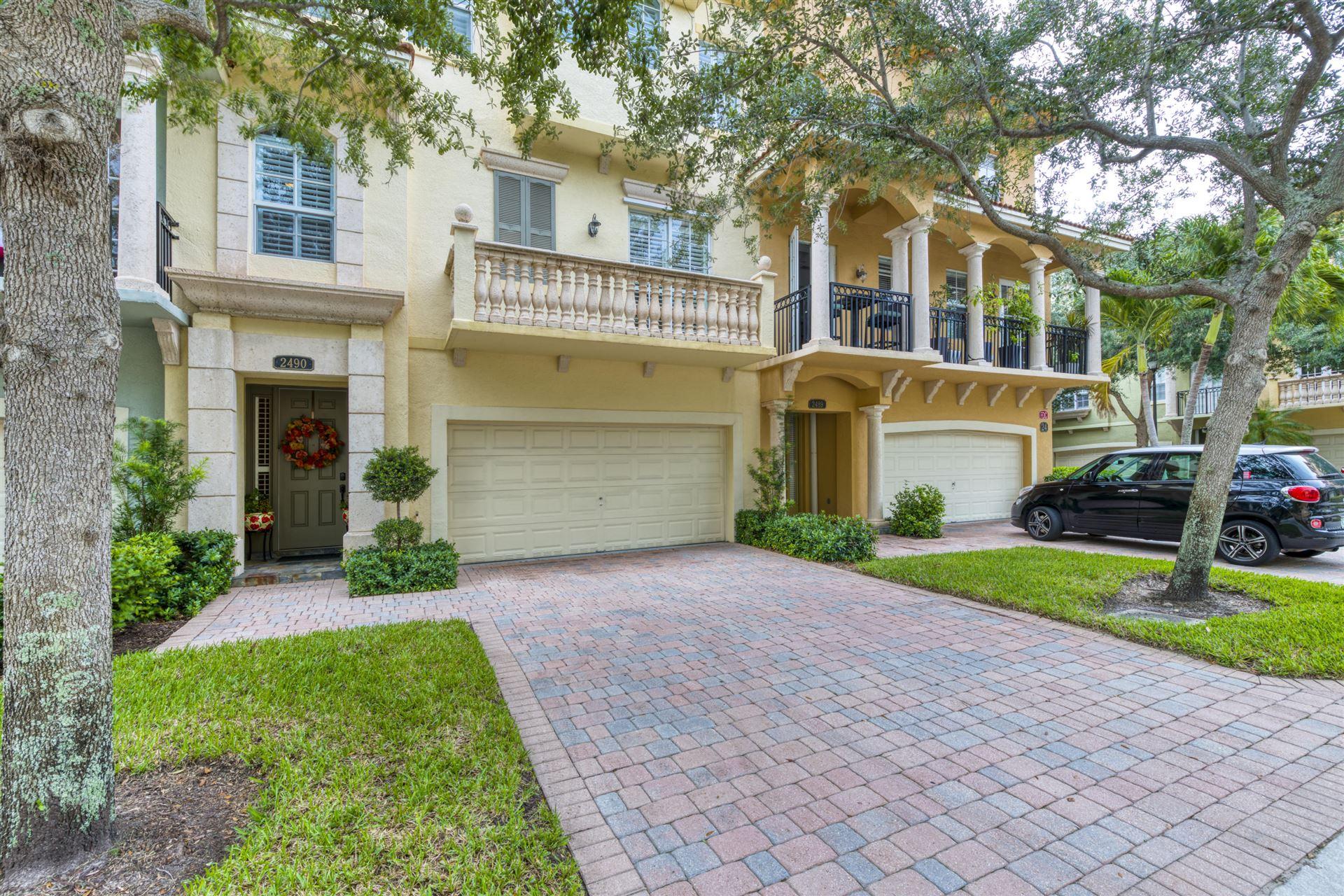 2490 San Pietro Circle, Palm Beach Gardens, FL 33410 - #: RX-10628282