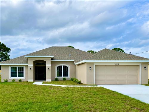 Photo of 5016 NW Rugby Drive, Port Saint Lucie, FL 34953 (MLS # RX-10556285)