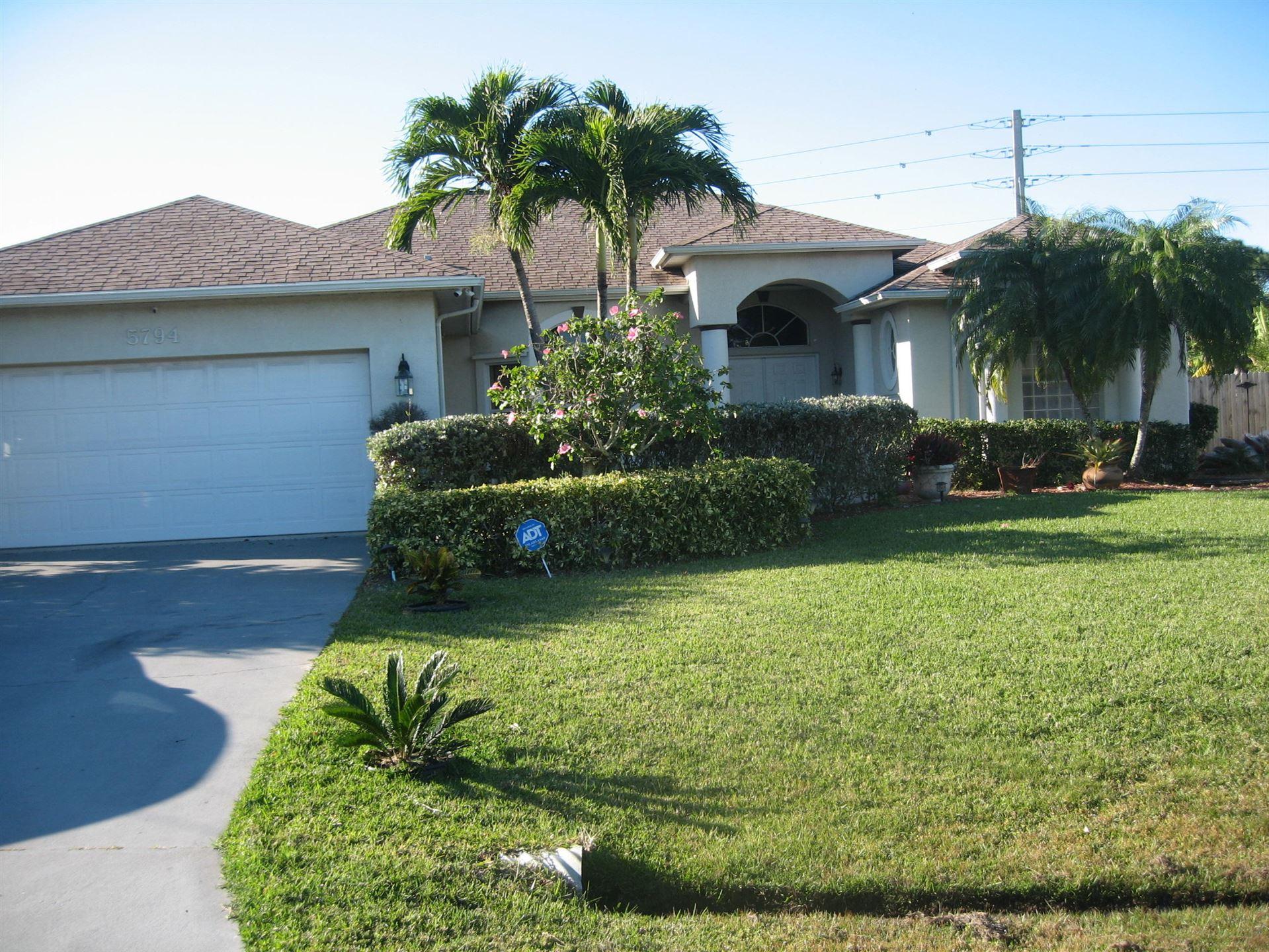 5794 NW Zinnia Street, Port Saint Lucie, FL 34986 - #: RX-10683286