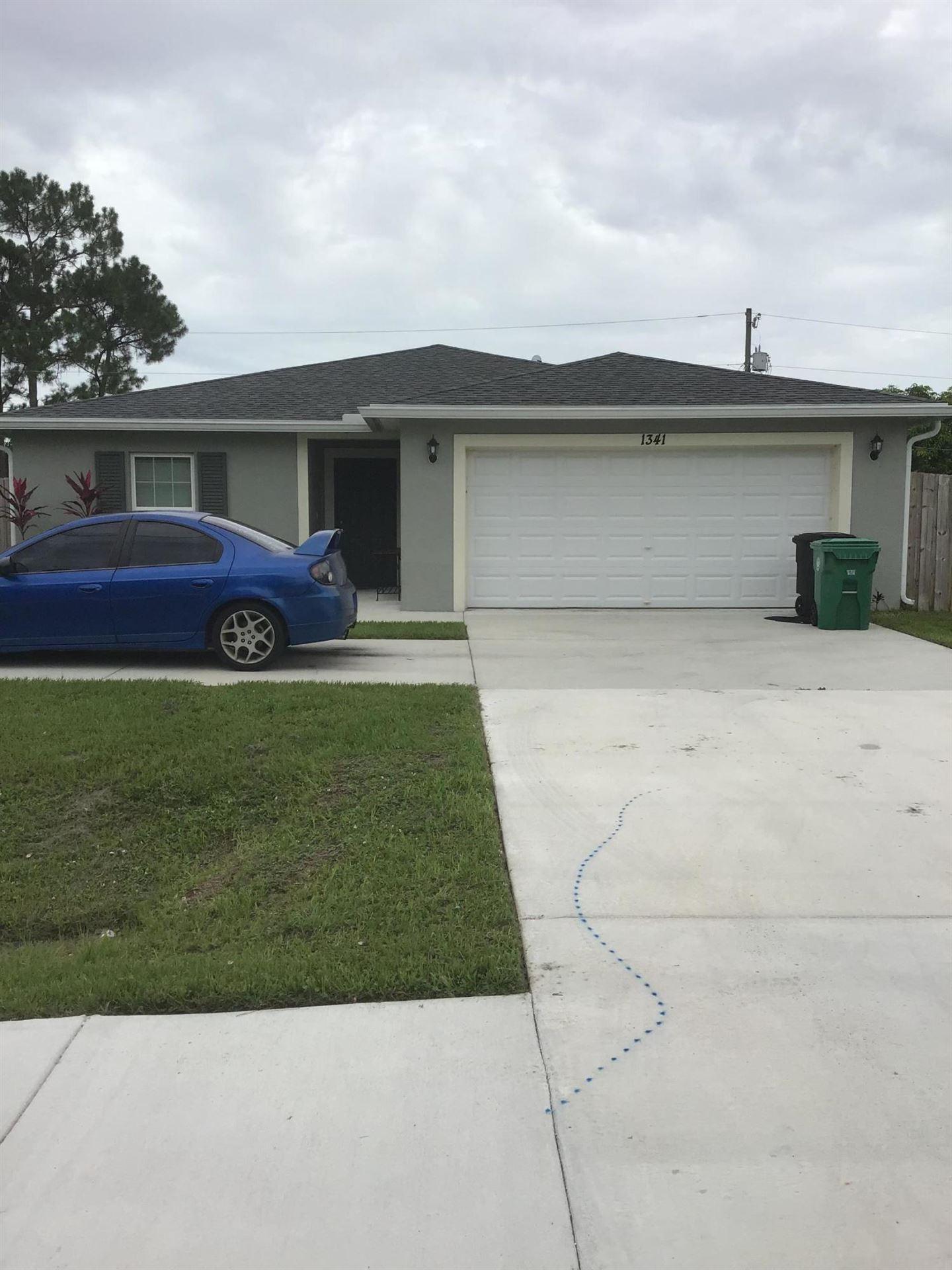 1341 SW Paar Drive, Port Saint Lucie, FL 34952 - #: RX-10730286