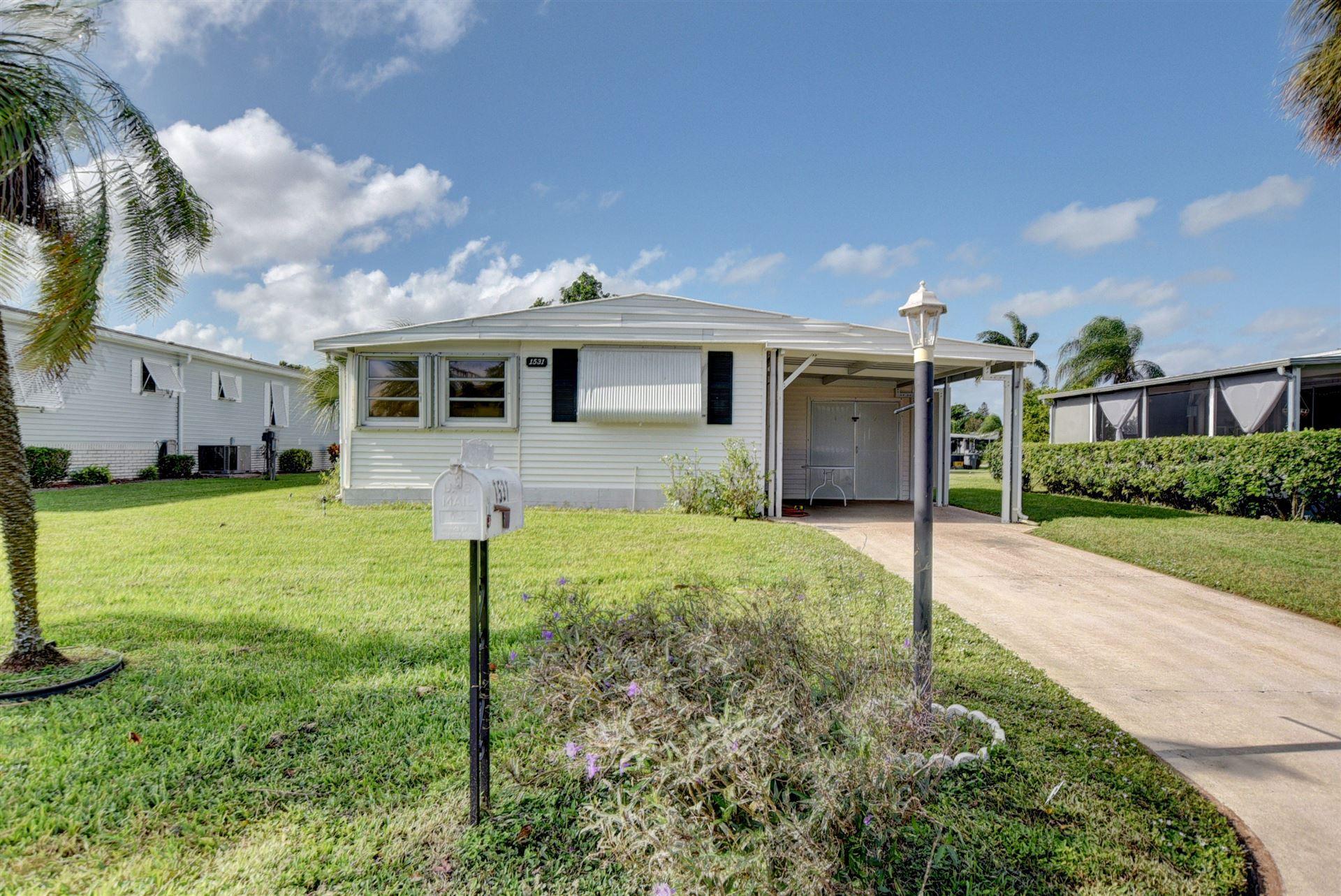 1531 SW 64th Way, Boca Raton, FL 33428 - #: RX-10675287