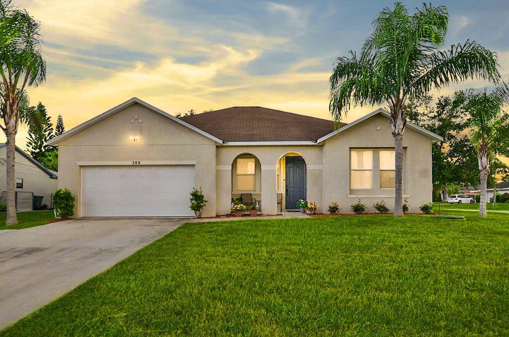 388 NW Placid Avenue, Port Saint Lucie, FL 34983 - #: RX-10734287