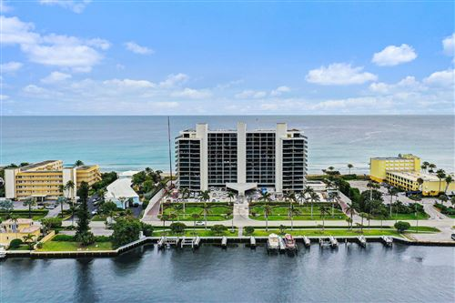Photo of 2727 S Ocean Boulevard #308, Highland Beach, FL 33487 (MLS # RX-10685289)