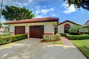 Photo of 10944 Washingtonia Palm Court #B, Boynton Beach, FL 33437 (MLS # RX-10561294)