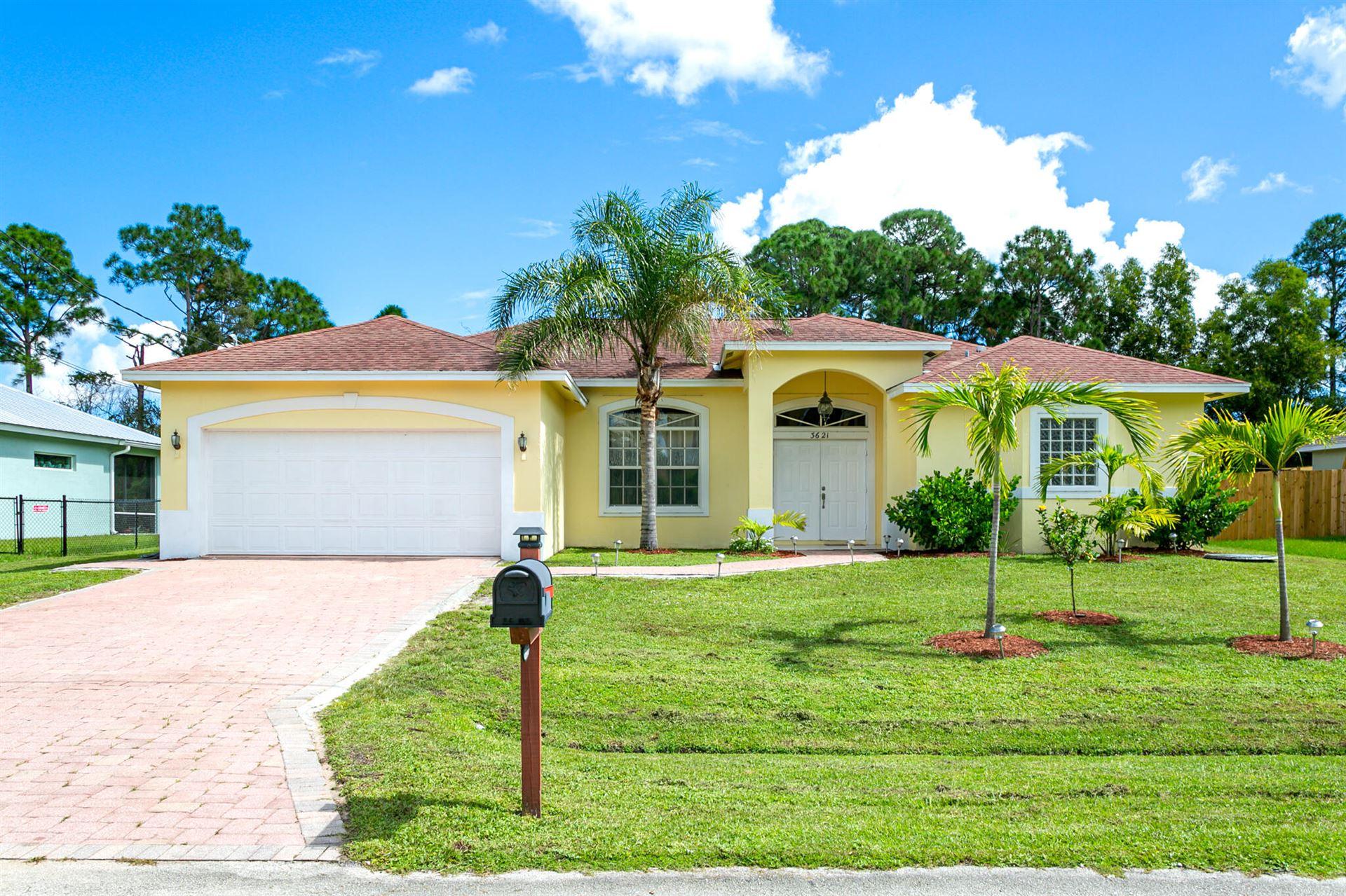 3621 SW Europe Street, Port Saint Lucie, FL 34953 - MLS#: RX-10752294