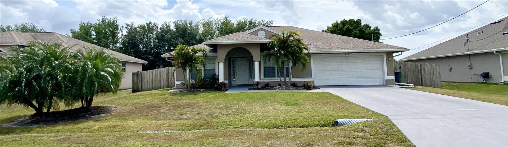 5857 NW Cullom Circle, Port Saint Lucie, FL 34986 - #: RX-10704295