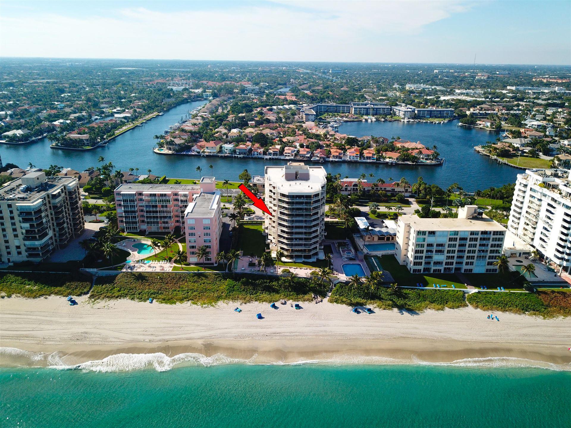 2917 S Ocean Boulevard #504, Highland Beach, FL 33487 - #: RX-10627297