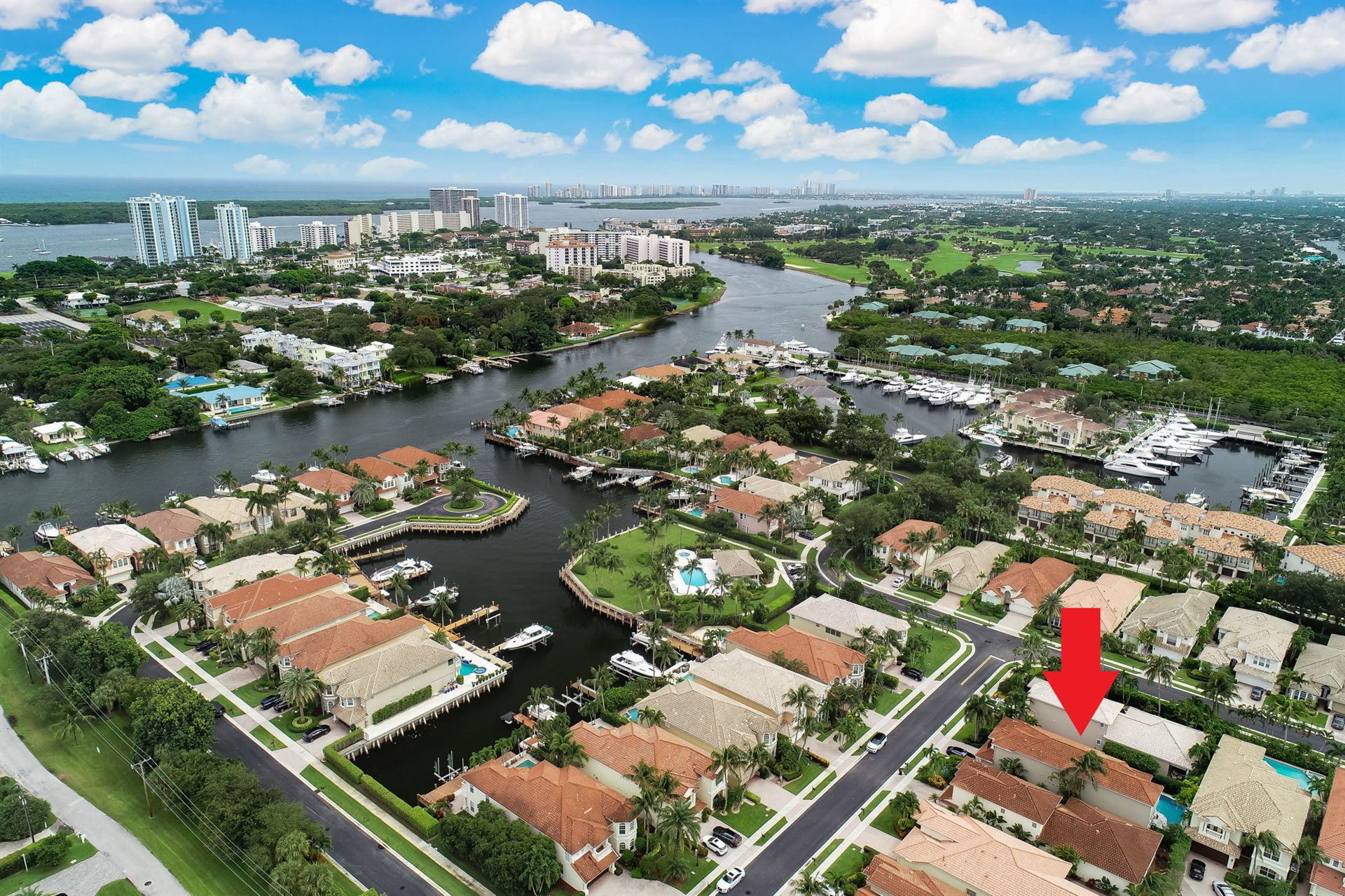 Photo of 735 Sandy Point Lane, North Palm Beach, FL 33410 (MLS # RX-10655297)
