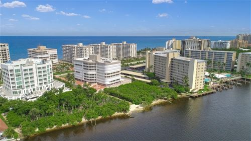 Photo of 3210 S Ocean Boulevard #401, Highland Beach, FL 33487 (MLS # RX-10663298)