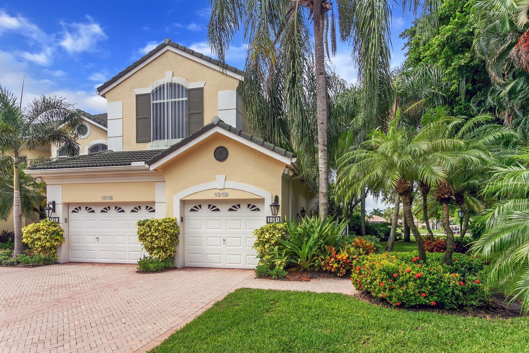 Photo of 101 Palm Point Circle #D, Palm Beach Gardens, FL 33418 (MLS # RX-10677298)