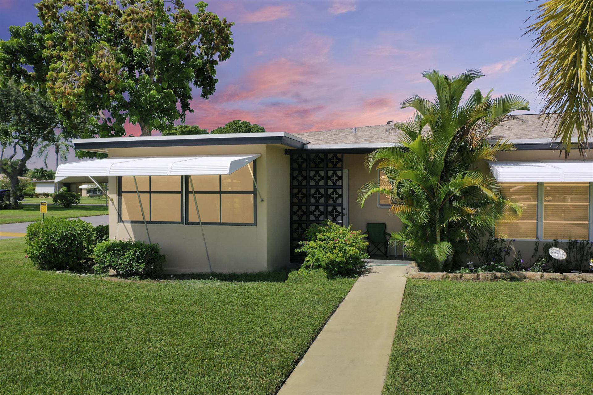 1017 South Drive #A, Delray Beach, FL 33445 - #: RX-10752298