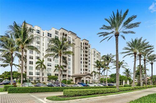 Photo of 3606 S Ocean Boulevard #102, Highland Beach, FL 33487 (MLS # RX-10701299)