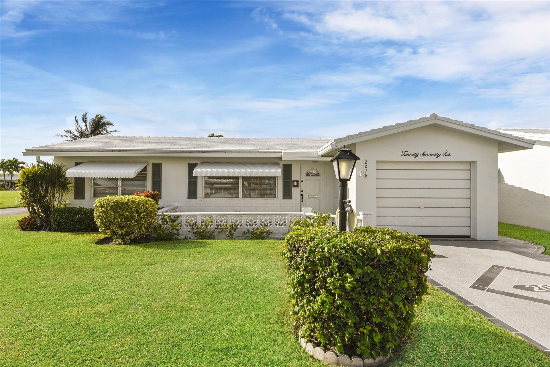 2076 SW 12th Avenue, Boynton Beach, FL 33426 - MLS#: RX-10744299