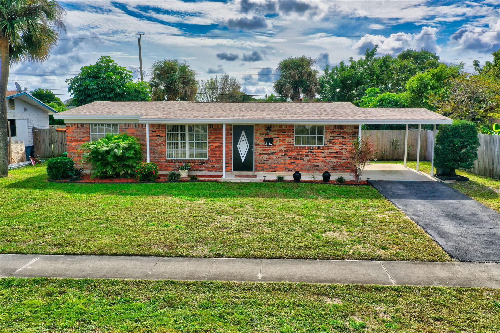 Photo of 3386 Florida Boulevard, Palm Beach Gardens, FL 33410 (MLS # RX-10685300)