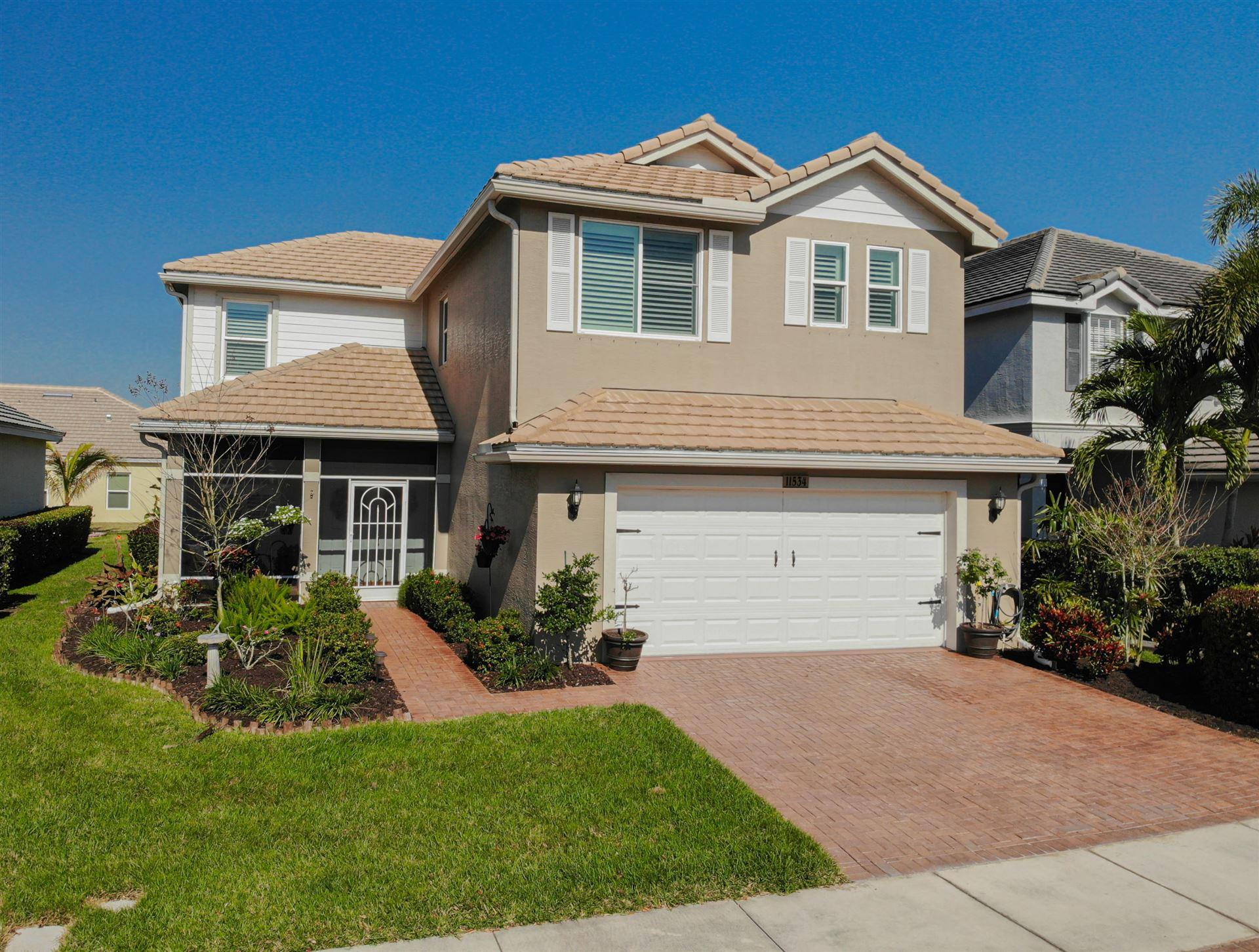 11534 SW Glengarry Court, Port Saint Lucie, FL 34987 - #: RX-10695300