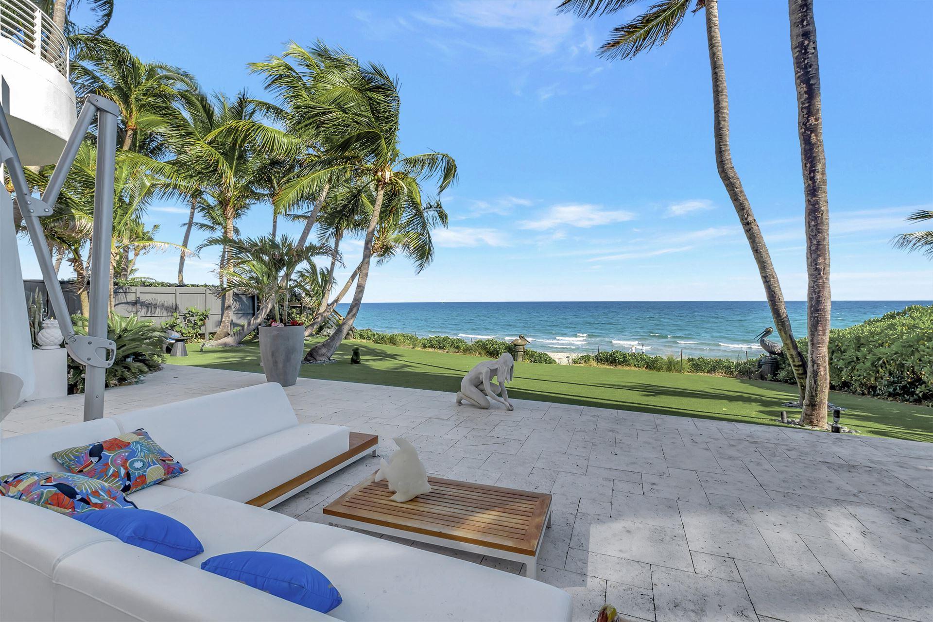7 Ocean Place, Highland Beach, FL 33487 - MLS#: RX-10725301