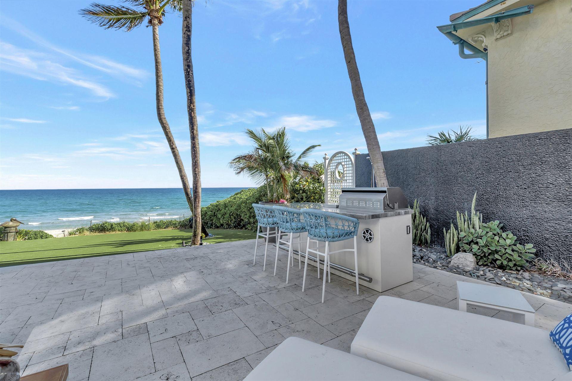 Photo of 7 Ocean Place, Highland Beach, FL 33487 (MLS # RX-10725301)