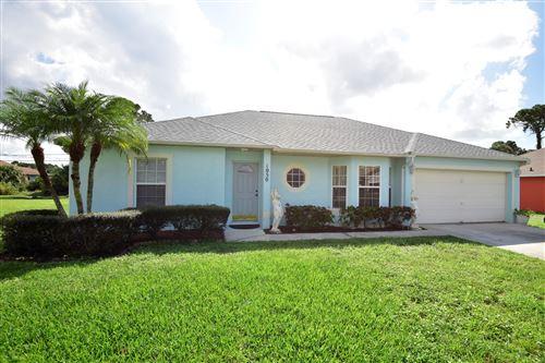 Photo of 1050 SW Versailles Avenue, Port Saint Lucie, FL 34953 (MLS # RX-10667302)