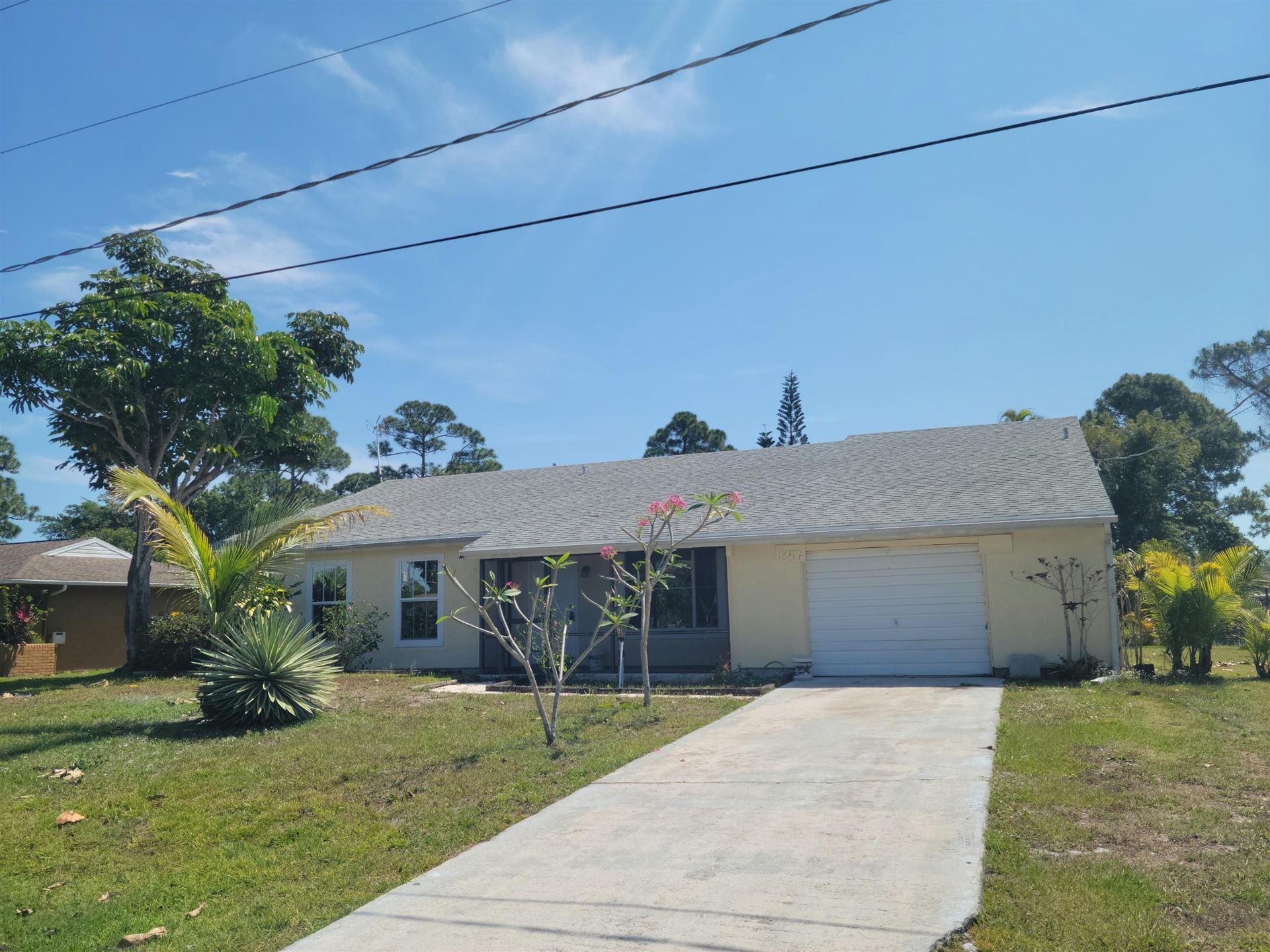 1857 SE Aneci Street, Port Saint Lucie, FL 34983 - #: RX-10708303