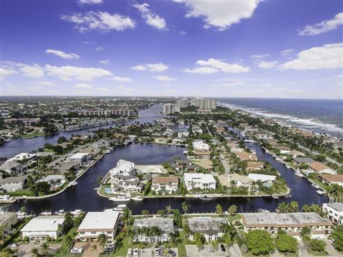 Photo of 1101 Bel Air Drive #A, Highland Beach, FL 33487 (MLS # RX-10669305)