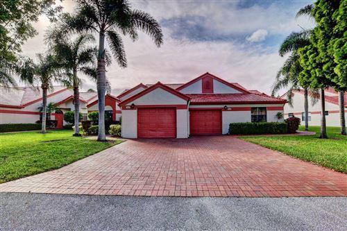 Photo of 7628 Lexington Club Boulevard #A, Delray Beach, FL 33446 (MLS # RX-10636309)