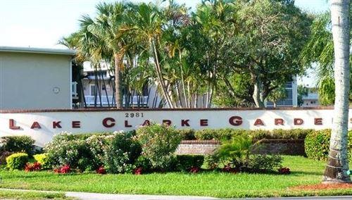 Photo of 2812 S Garden Drive #106, Lake Worth, FL 33461 (MLS # RX-10744309)
