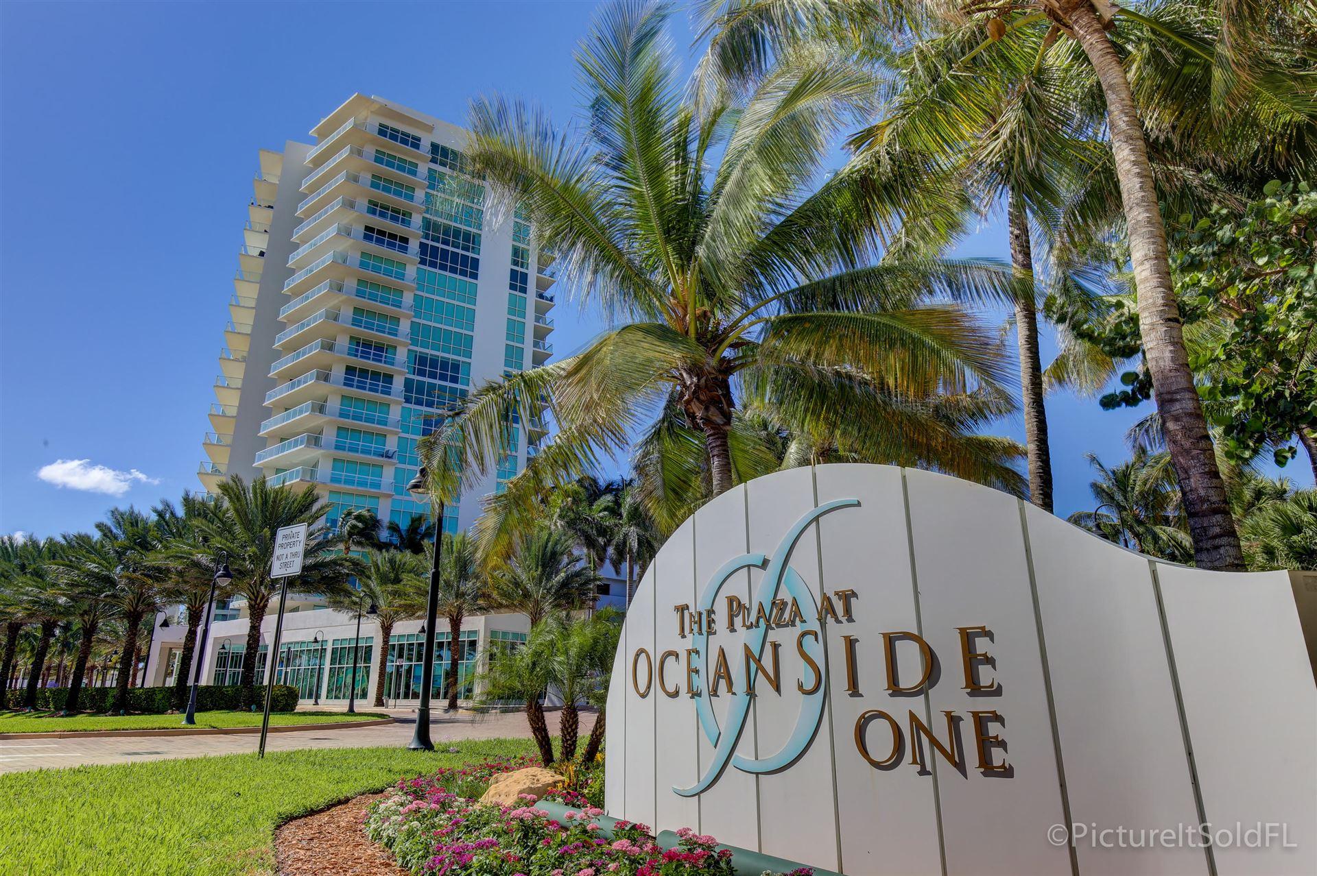 Photo of 1 N Ocean Boulevard #1209, Pompano Beach, FL 33062 (MLS # RX-10643309)