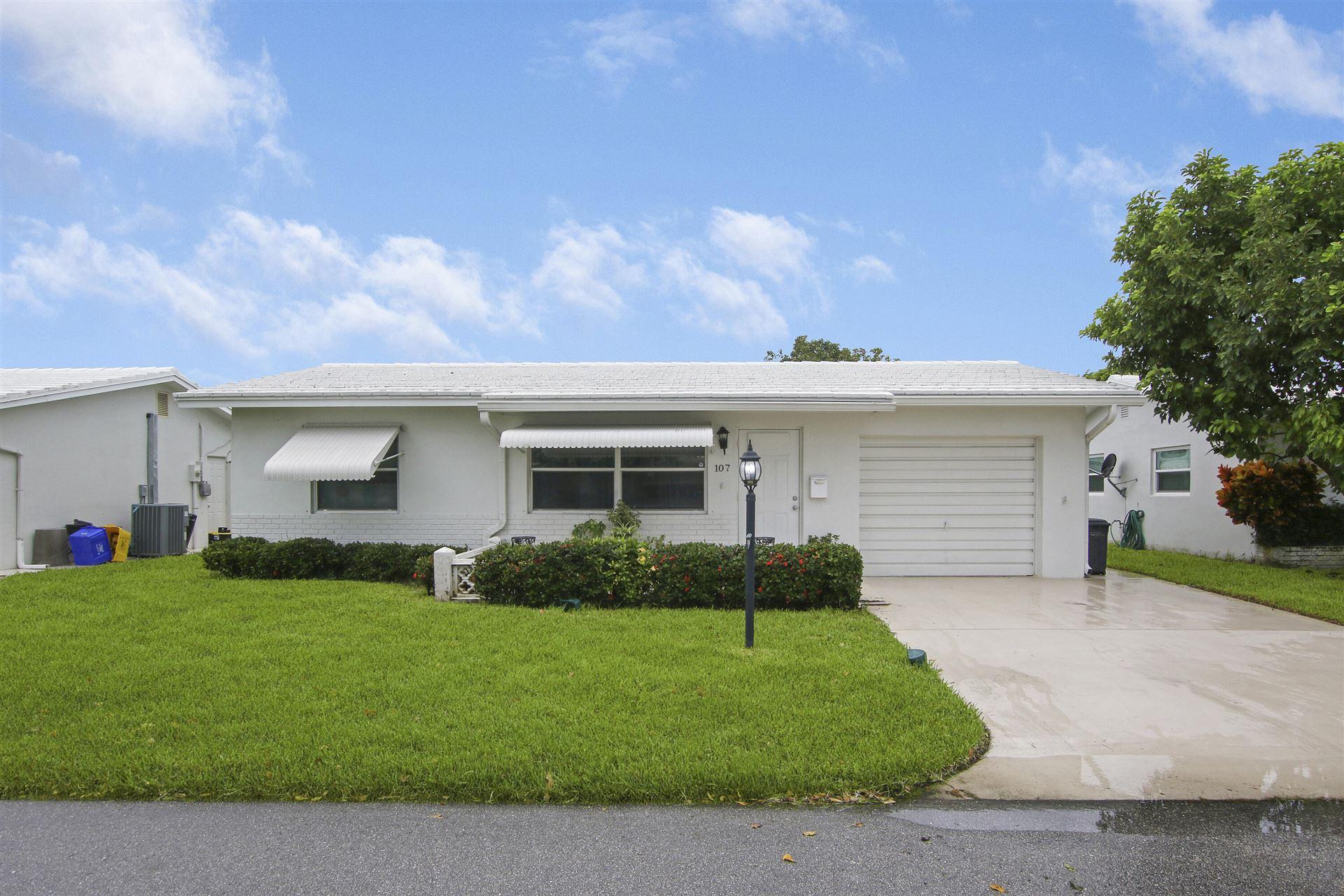 107 SW 8th Court, Boynton Beach, FL 33426 - #: RX-10749313