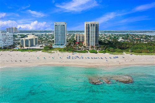 Tiny photo for 3800 N Ocean Drive #Unit 1608, Singer Island, FL 33404 (MLS # RX-10747314)