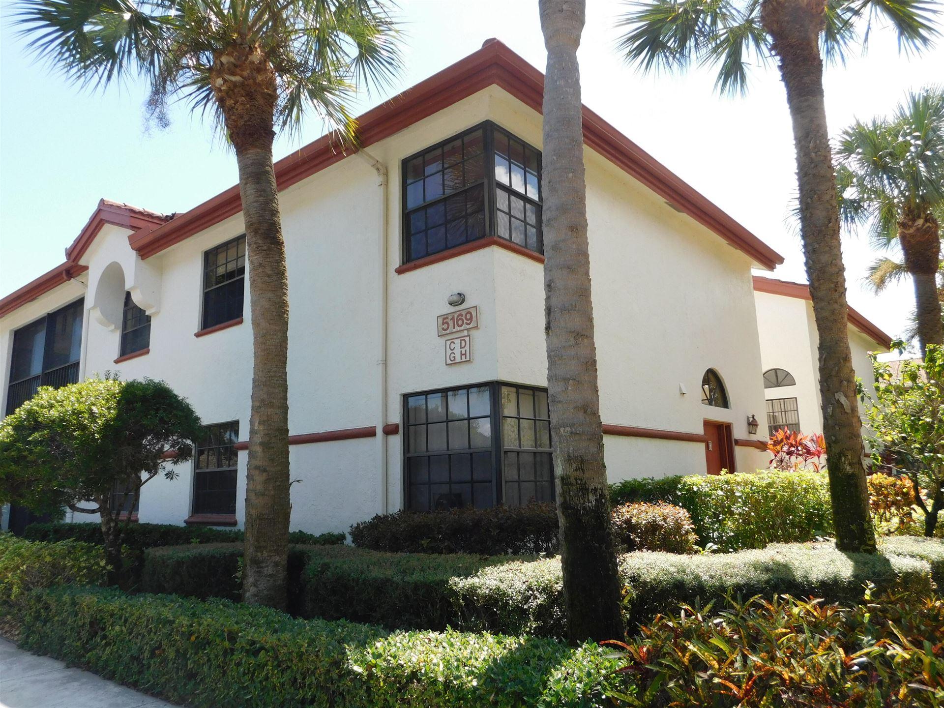 5169 Brisata Circle #D, Boynton Beach, FL 33437 - MLS#: RX-10752317