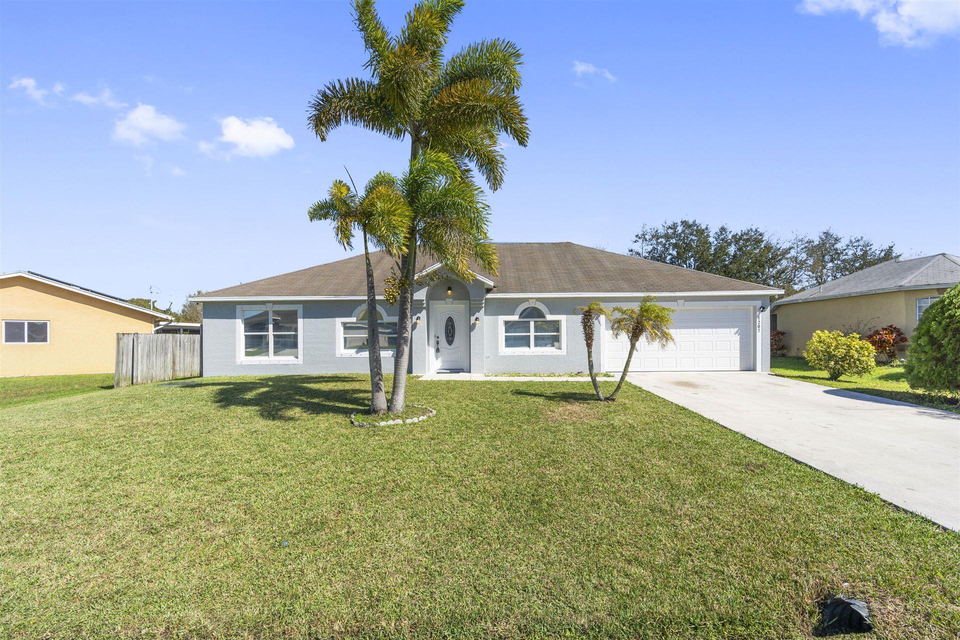 1207 SW Curry Street, Port Saint Lucie, FL 34983 - #: RX-10695319