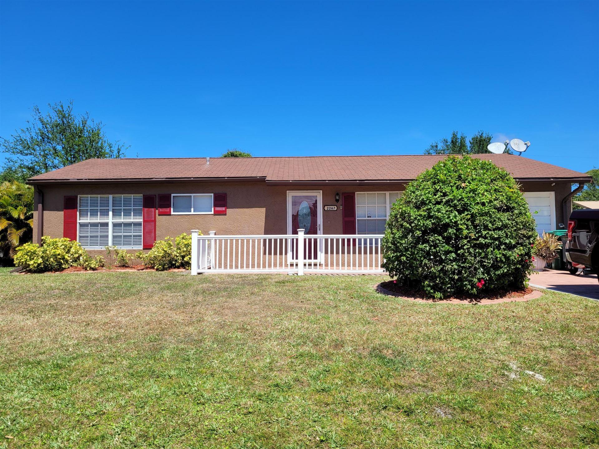 2267 SE Trillo Street, Port Saint Lucie, FL 34952 - #: RX-10703319