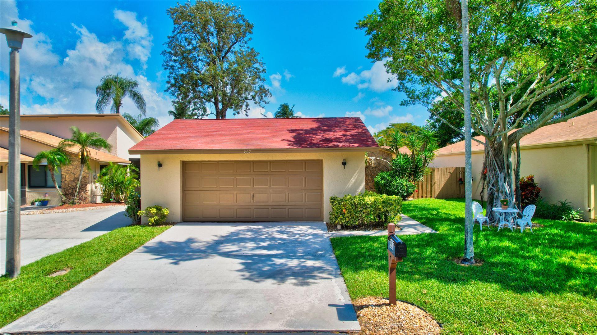 867 NW 25th Avenue, Delray Beach, FL 33445 - MLS#: RX-10714320