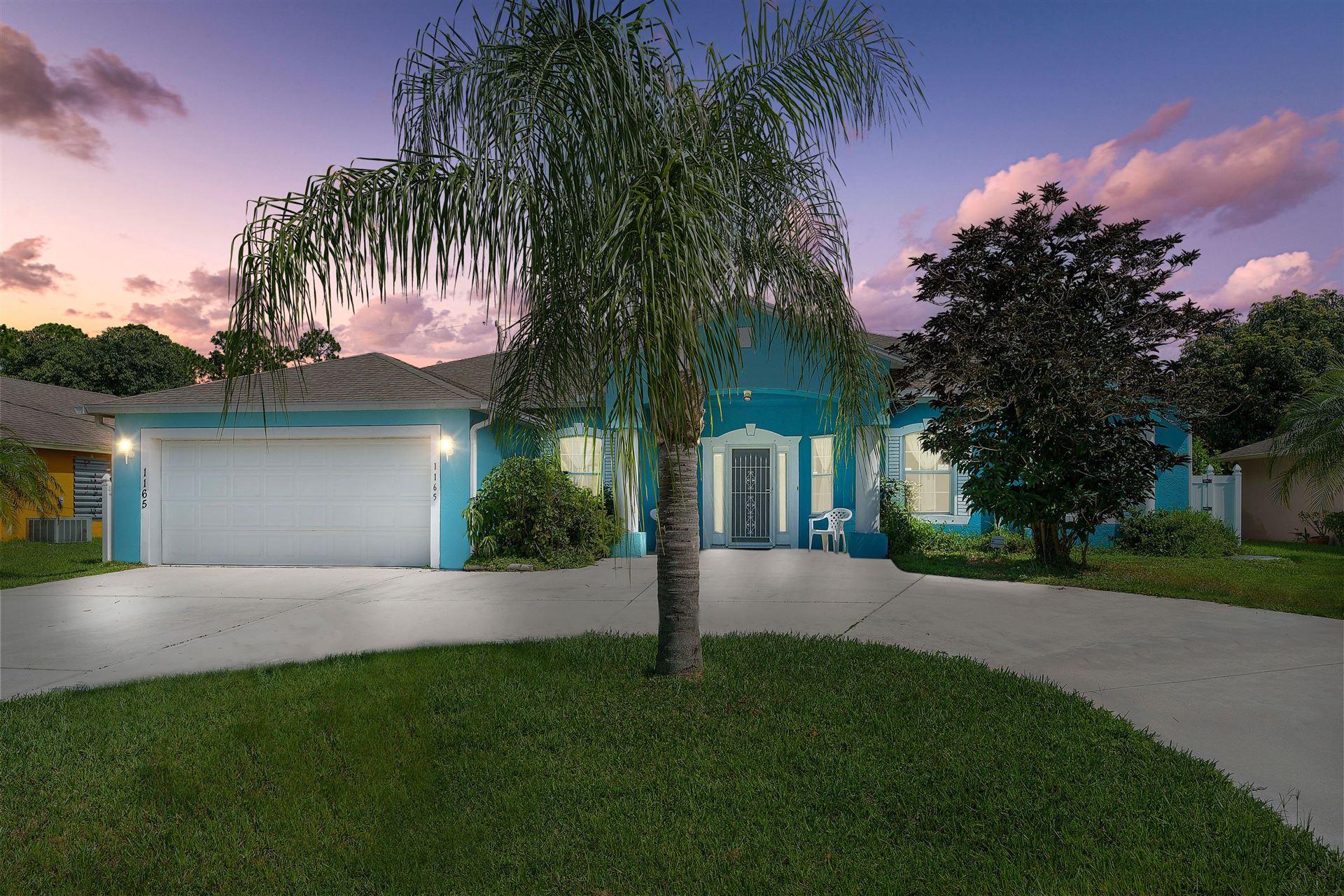 1165 SW Hamrock Avenue, Port Saint Lucie, FL 34953 - #: RX-10634321