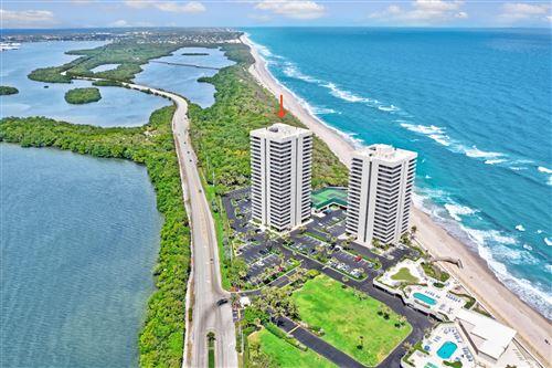 Photo of 5550 N Ocean Drive #15-B, Singer Island, FL 33404 (MLS # RX-10705324)
