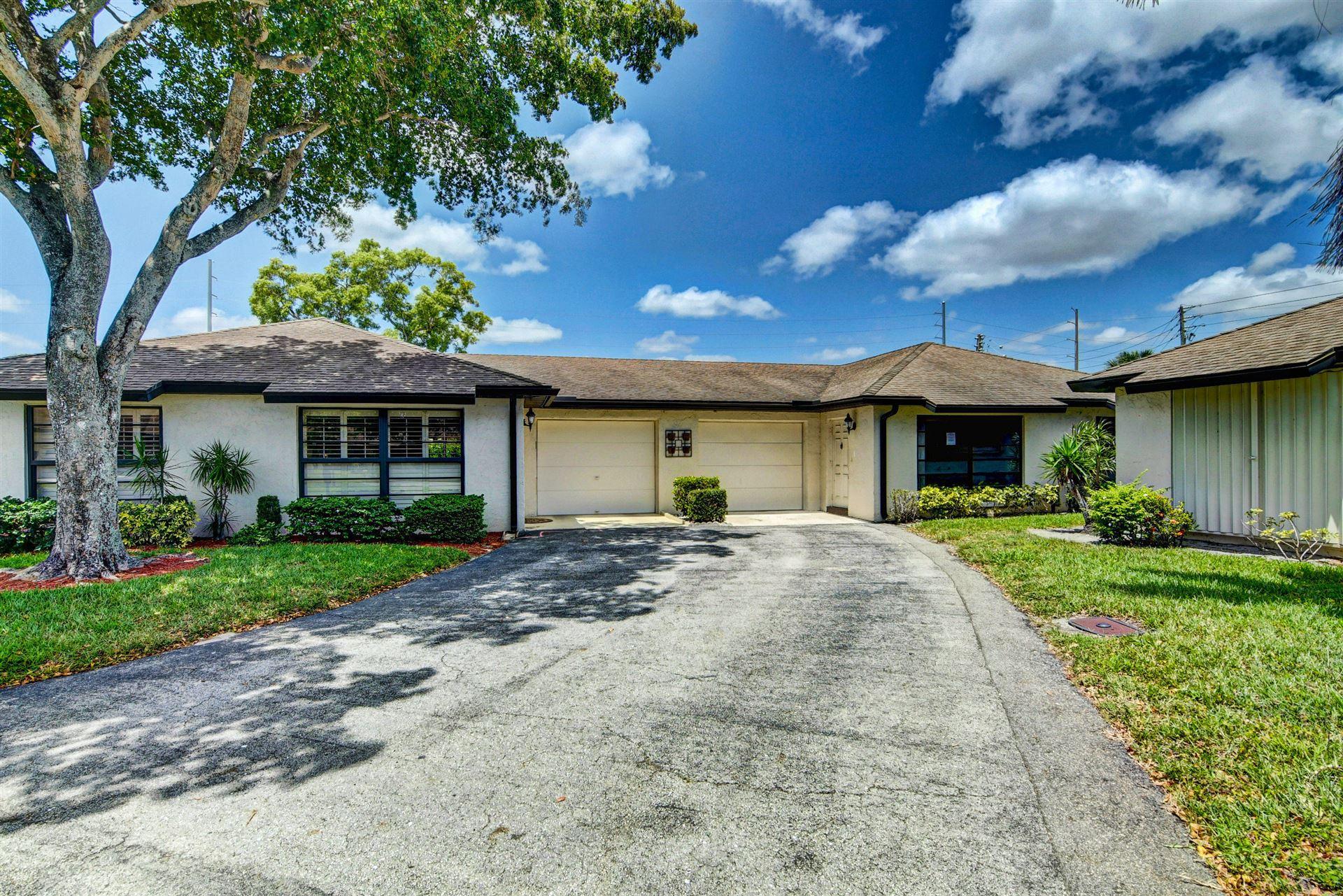 4867 Hawkwood Road #B, Boynton Beach, FL 33436 - MLS#: RX-10712324